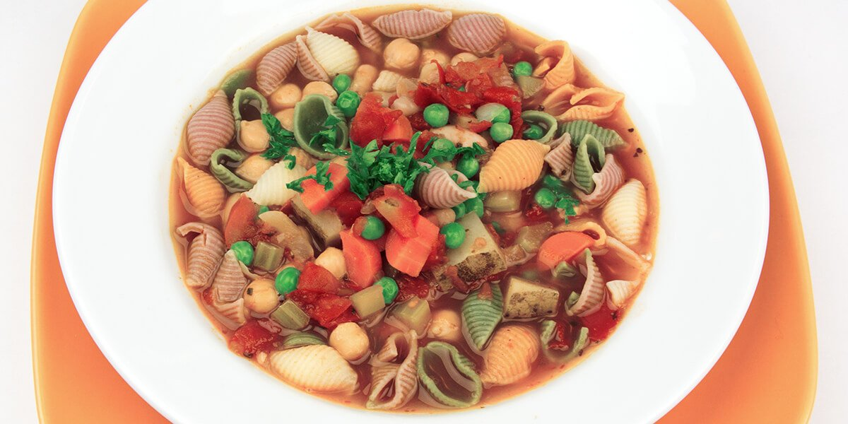 White Bean Minestrone Soup