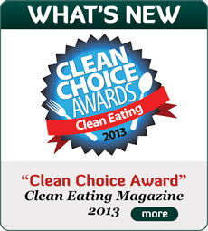 Clean Eating Clean Choice Award