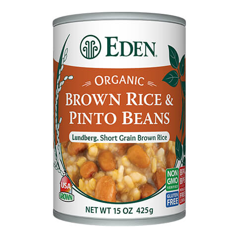 Brown Rice and Bean Soup