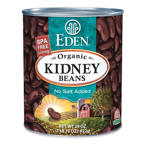 Kidney (dark red), Organic