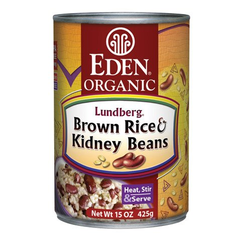 Brown Rice & Kidney Beans, Organic