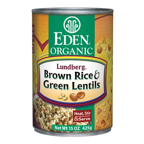 Brown Rice & Lentils, Organic