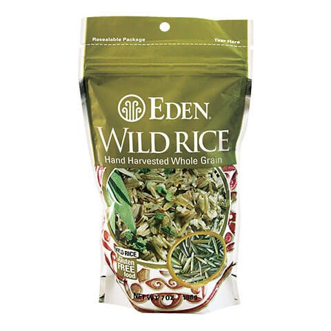 Wild Rice, 100% Whole Grain