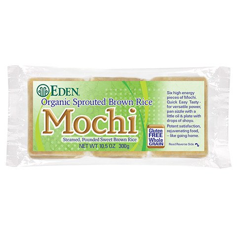 Sprouted Brown Rice Mochi, Organic