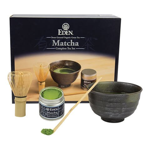 Organic Matcha, Green Tea Powder Kit