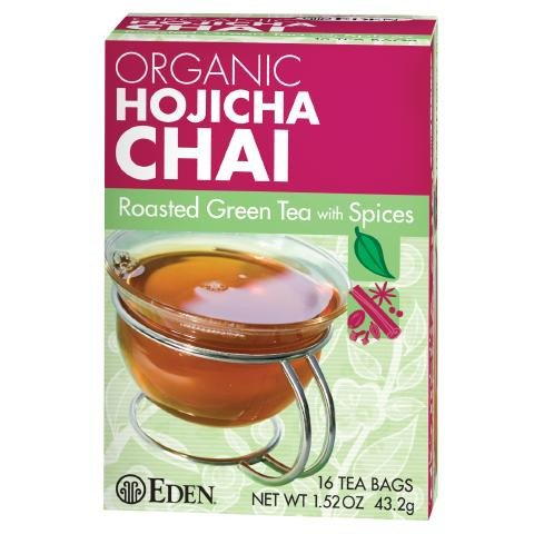Hojicha Chai Roasted Green Tea, Organic
