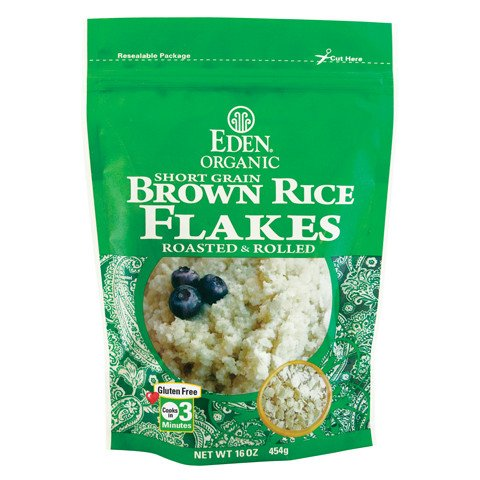 Brown Rice Flakes, Organic