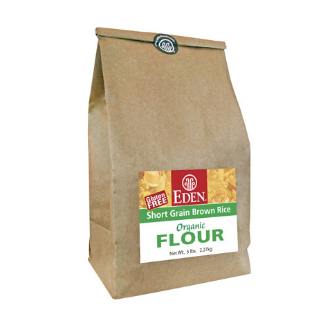 Short Grain Brown Rice Flour, Organic