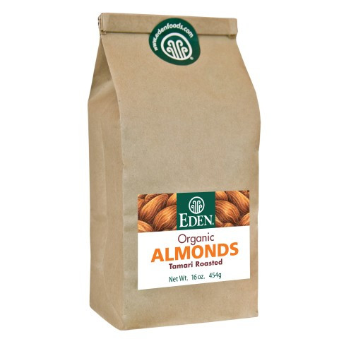 Tamari Roasted Almonds, Organic