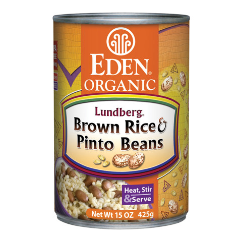 Brown Rice & Pinto Beans, Organic