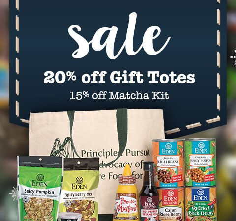 20% off EDEN Gift Totes