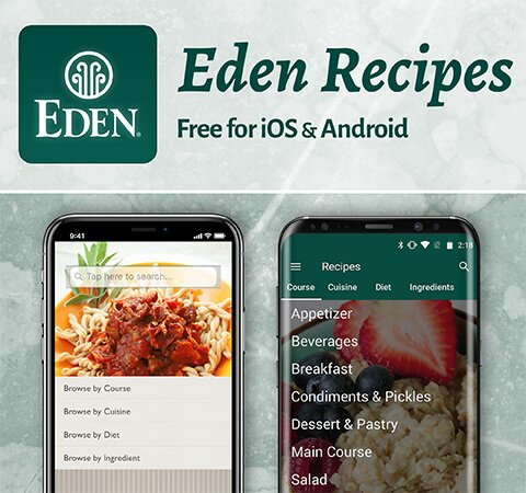 EDEN Recipes App